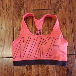 Nike drifit sports bra